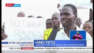 Wakaazi wa Loiyangalani, Turkana waandamana