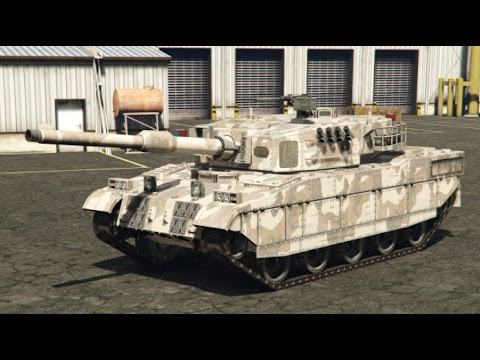 gta v how to get tank online