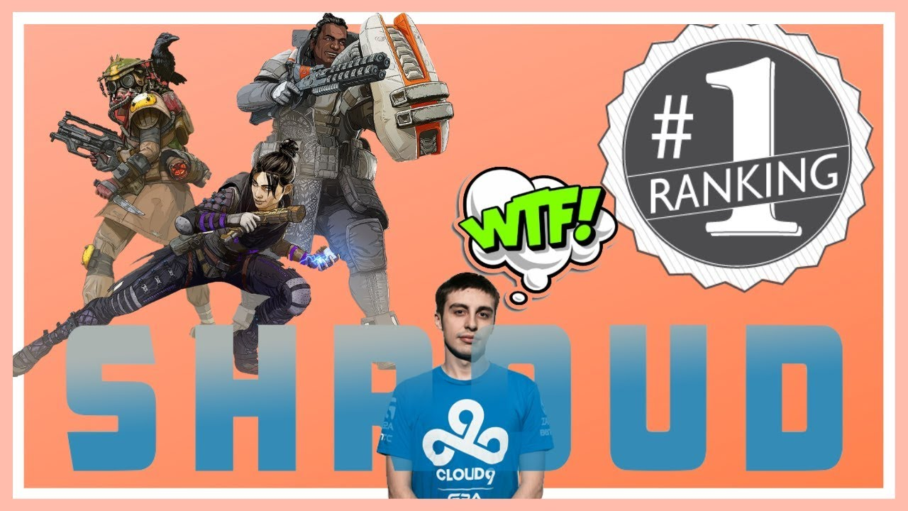 Apex Legends Gameplay Shroud | (INSANE) Shroud Apex Legends