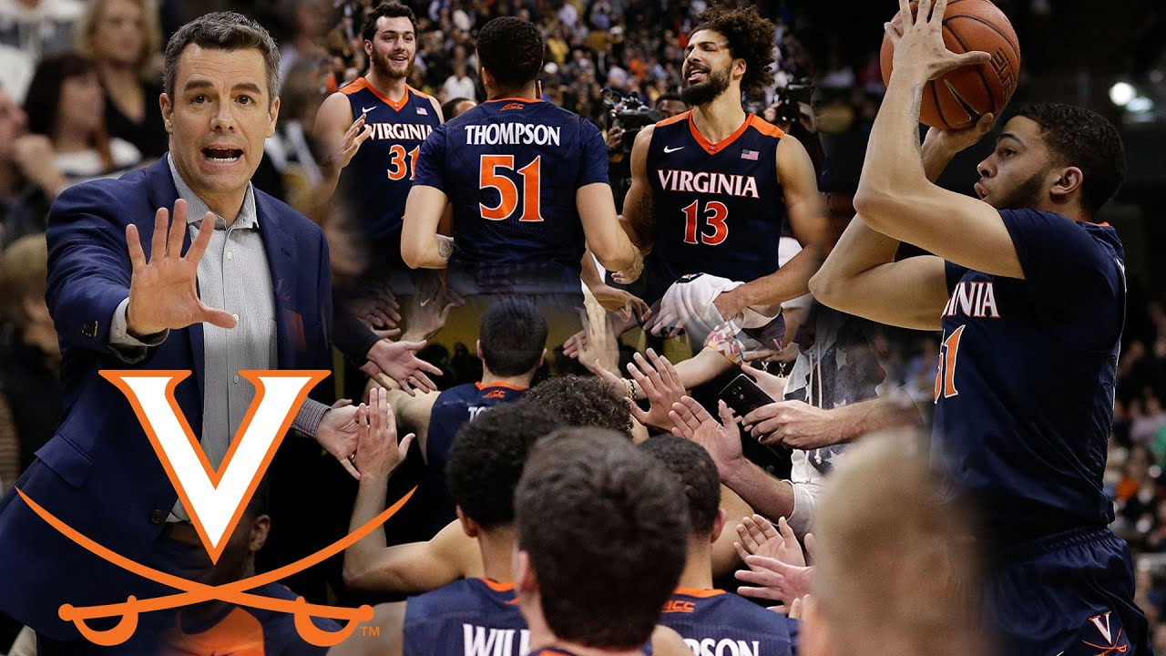 UVA Basketball Miraculous 9-1 Run in Final 15 Seconds Beats Wake Forest - YouTube
