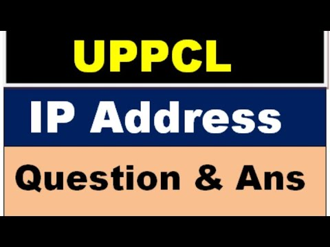 IP Address Computer Questions For UPPCL