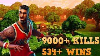 534+ WINS | 9000+ KILLS [PS4] | VBUCKS GIVEAWAY @ 850 SUBS | FORTNITE BATTLE ROYAL