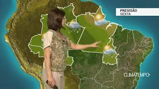 Previsão Norte – Ar seco sobre o AP e norte do PA