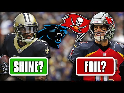 5 NFL Free Agents that'll SHINE with their New Teams in 2020... and 5 that Will Drastically FLOP