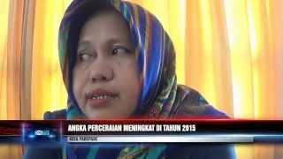 ANGKA PERCERAIAN MENINGKAT DI TAHUN 2015