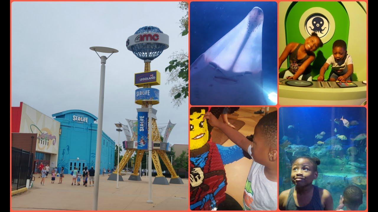Legoland Dallas and Sea Life Aquarium Grapevine Vlog - YouTube