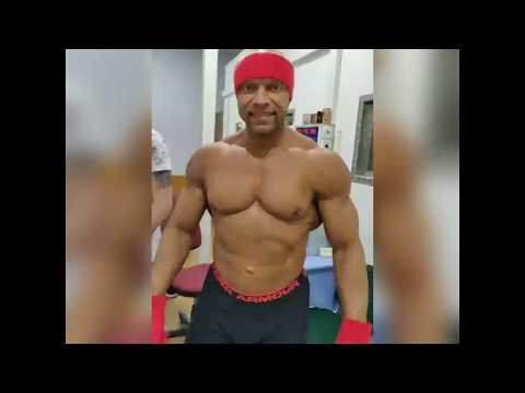Чемпион мира по бодибилдингу Дмитрий Трикоз о своих ощущениях после КРИОсауны