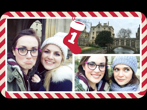 VLOGMAS  CAMBRIDGE ADVENTURE WITH LAURA DIX