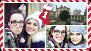 VLOGMAS! | CAMBRIDGE ADVENTURE WITH LAURA DIX!