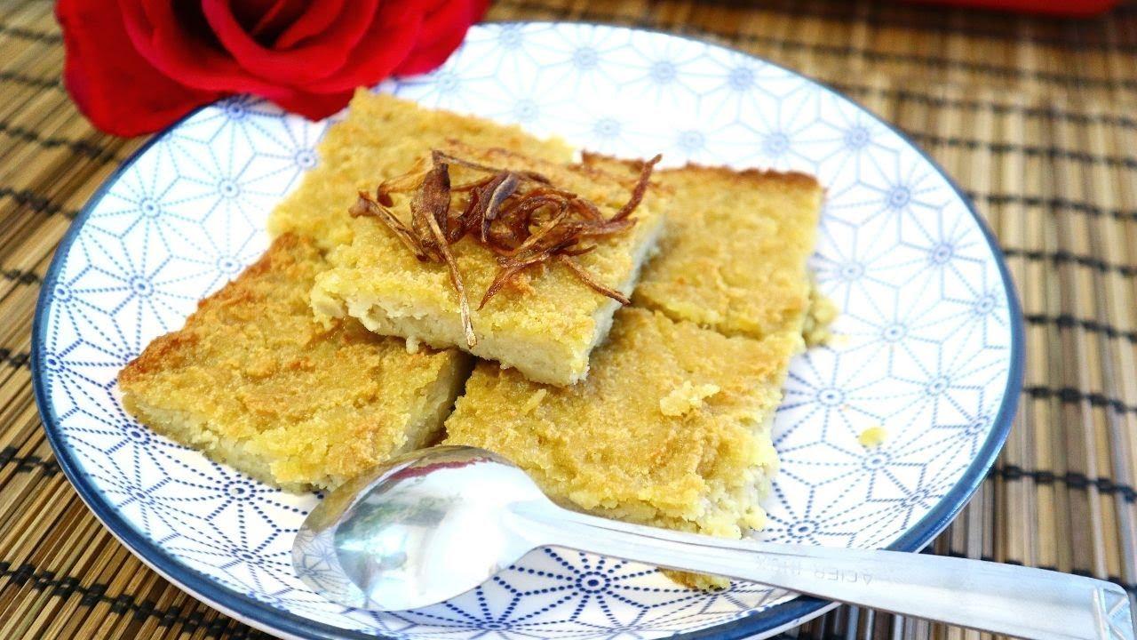 នំបាក់កែងខ្មែរ ឆ្ងុយឆ្ងាញ់ខ្លាំងណាស់ - Nom Bak Keng [Khmer  Dessert]