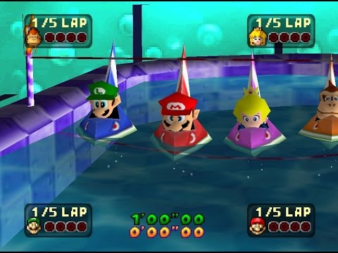 Twitch Plays MARIO PARTY (Chat Controls Luigi!)