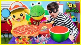 Pokemon Detective Pikachu finds the food thief!!!