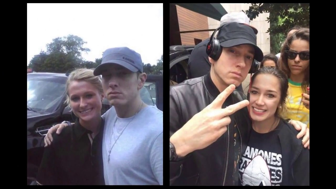 Eminem meeting fans youtube eminem meeting fans m4hsunfo