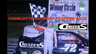 Charlotte speedway outlaw 4 feature 3/7/15