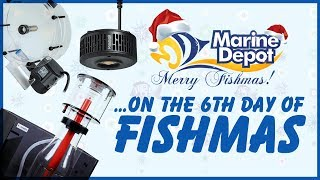 Sixth Day of Fishmas 2018 ❄ Kessil A360X Giveaway ❄ Somatic 15% OFF ❄ Omega Reactors 25% OFF