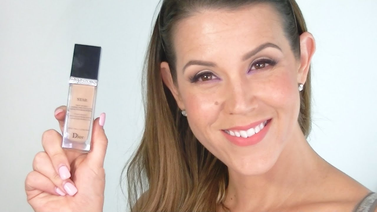 DIOR STAR Foundation : REVIEW & DEMO - YouTube
