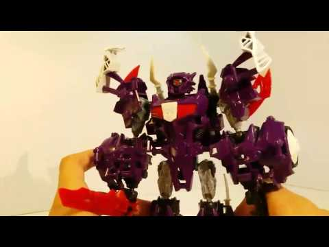 Transformers construct bots beast hunters shockwave