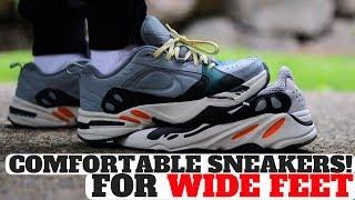 Top 5 Most Comfortable Sneakers For WIDE FEET!