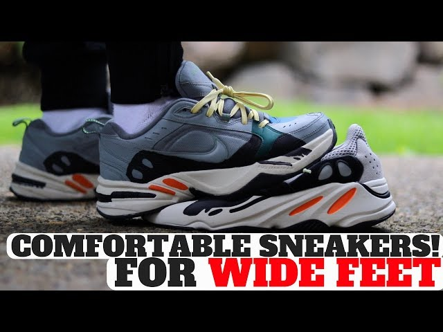 Most Comfortable Sneakers For WIDE FEET