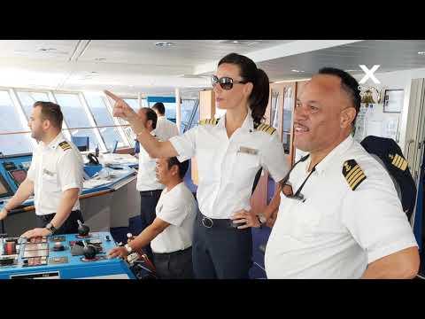 """Episode 4: How I Sea It; How do you """"drive"""" a mega cruise ship?"""