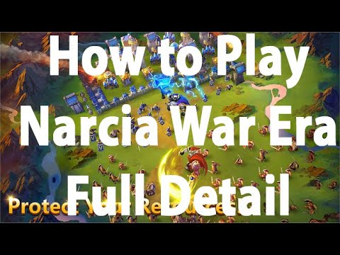 How To Play Narcia War Era | Narcia Full Detail | Castle Clash | ABJ Gaming