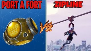 Port A Fort VS Epic Annoying Zipline Glitch - Fortnite Funny & Awesome Moments #30