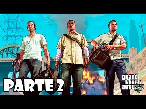 Grand Theft Auto 5 Gameplay Walkthrough Parte 2 - Español (Xbox 360/PS3 Gameplay HD)