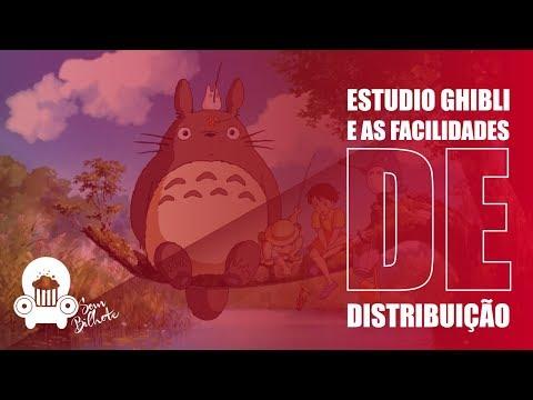 Estudio Ghibli e as facilidades de Distribuição