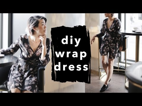 How to Make a Wrap Dress | WITHWENDY