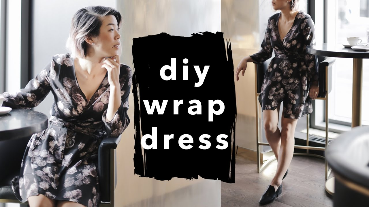 42b2bd39273c How to Make a Wrap Dress