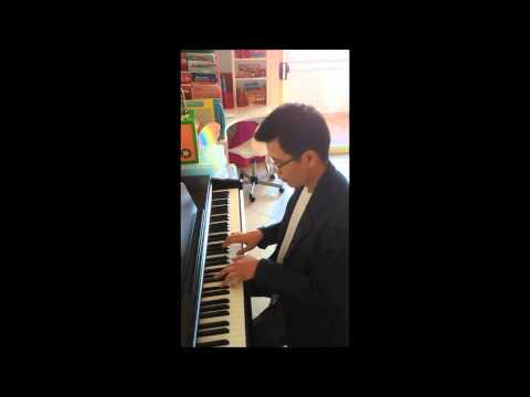 ลึกสุดใจ piano solo with Yamaha YDP141 review