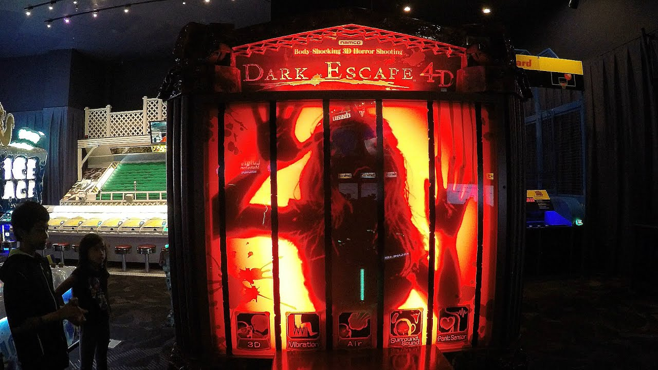 Dark Escape 4D Arcade Game At Dave & Buster's – Let's Play Games