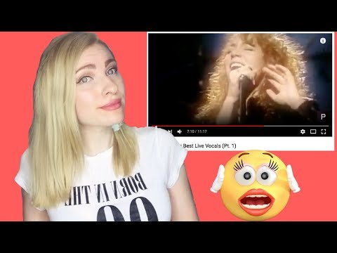 Professional ian Reaction to Mariah Careys Best  Vocals - Review