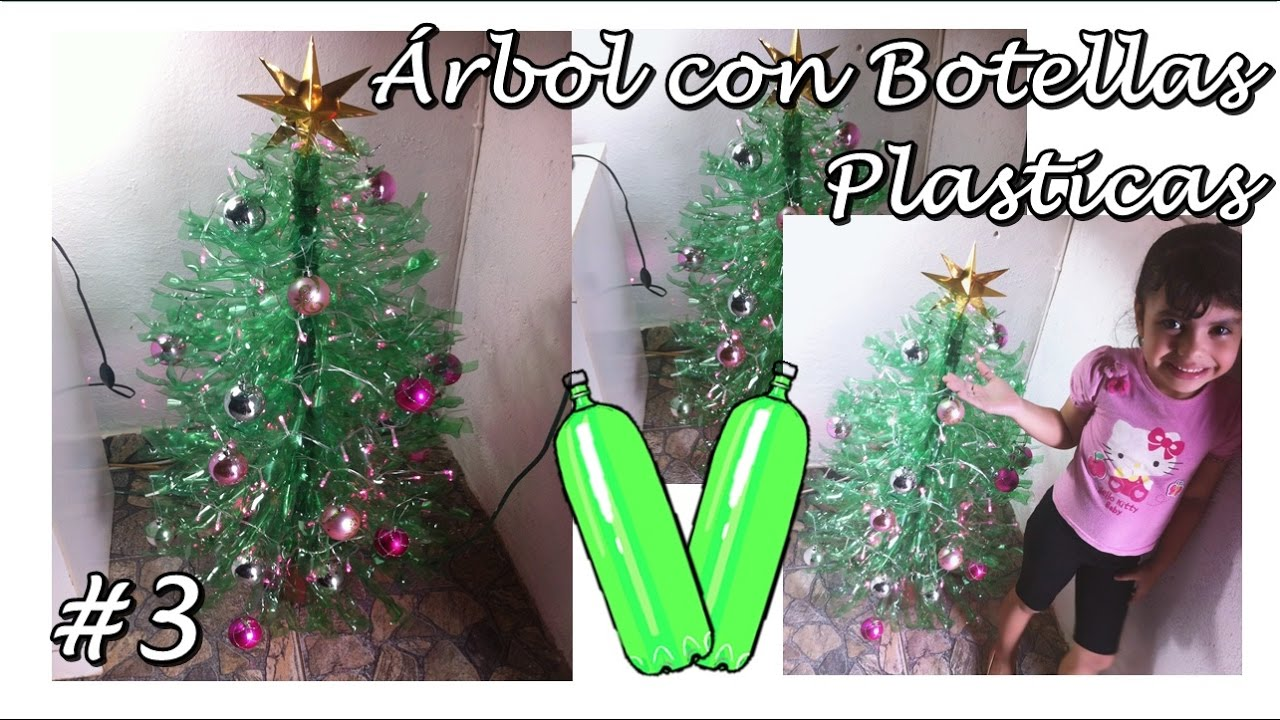 Como hacer un arbol de navidad grande youtube