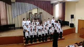Хор мальчишек из оперы Кармен Хор мальчиков Акварели на Фестивале Поющая весна 2018