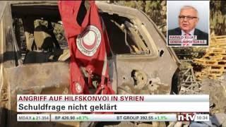 Сирия: последствия российских бомбардировок гуманитарного конвоя
