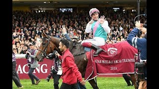 Frankie Dettori : the King of the Arc