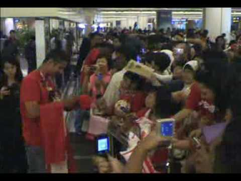 SG Lions return from Thailand - Tiger Cup Champions 2006/07