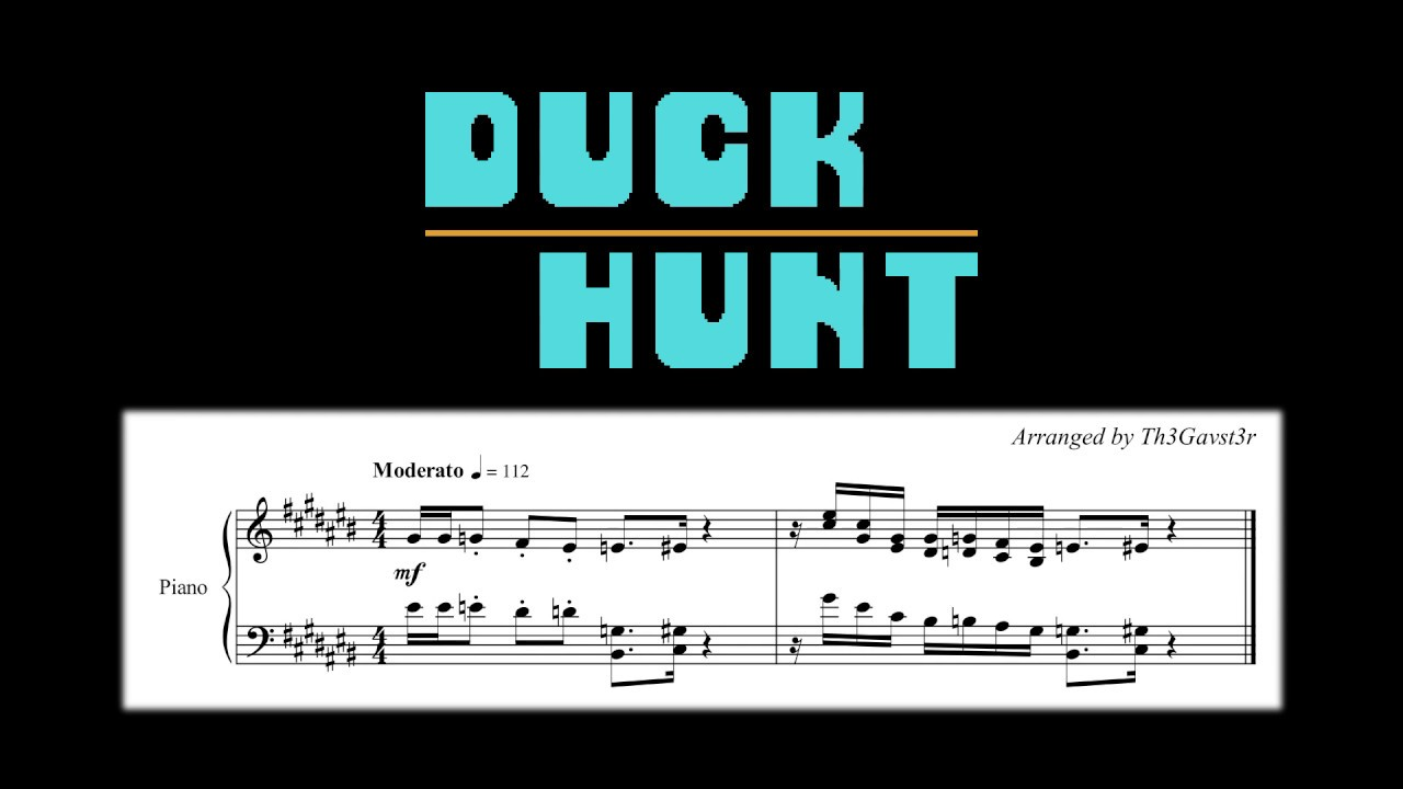 duck hunt theme