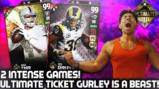 Ultimate todd gurley is a monster! madden 17 ultimate team