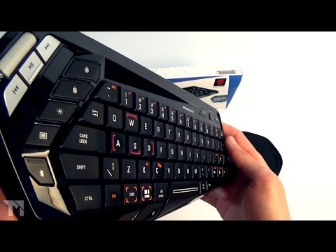 Mad Catz S.T.R.I.K.E. M Wireless Mobile Keyboard Review (STRIKE M)