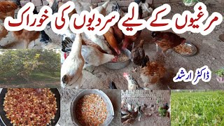 Poultry Feed in Winter | How to make Poultry Feed in Pakistan | Chicken Feed with Dr Arshad