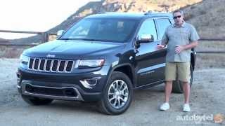 2015 Jeep Grand Cherokee EcoDiesel Test Drive Video Review