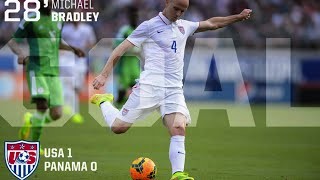 MNT vs. Panama: Michael Bradley Goal - February 8, 2015