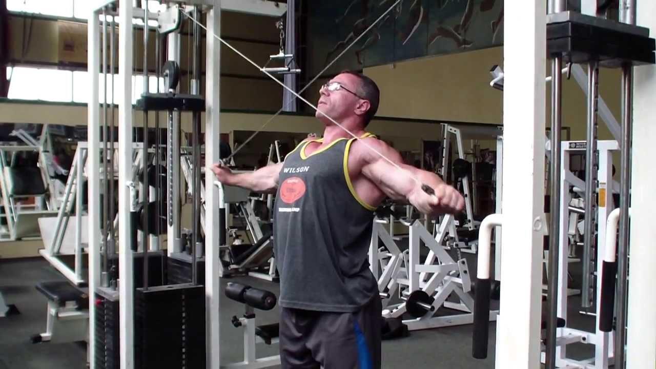 Тренировка плечей Александр Ярмоленко задняя дельта в ...