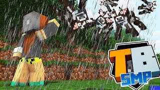 Truly Bedrock - Episode 3 - PRANKED! Cloudy With A Chance of Cows! - Minecraft SMP