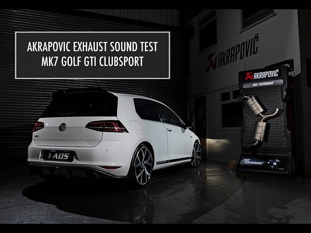 Akrapovic Exhaust - Mk7 Golf GTI Clubsport