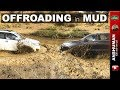 new & old Fortuner, Monster Jeep, Isuzu D-Max, Gypsy | Offroading in Mud | June 2018