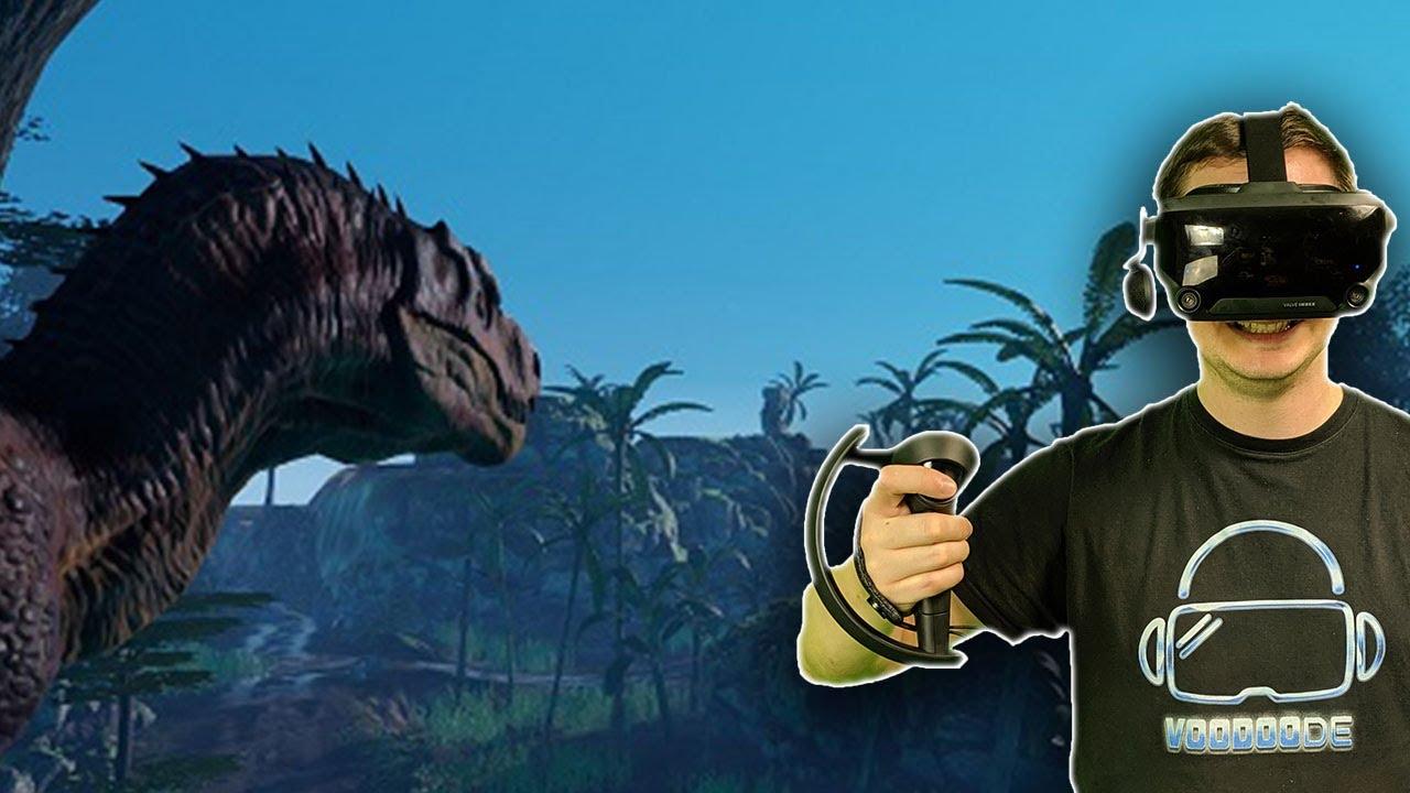 Ist das der Jurassic Park in VR? Xenociders [VR Gameplay]