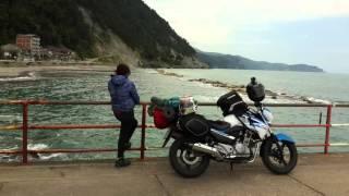 Motosiklet ile Türkiye turu ( Turkey tour with motorcycle ) PART 1 suzuki inazuma gw250